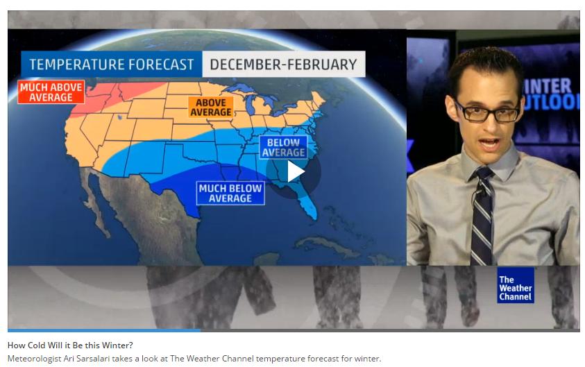 Winter Travel Forecast