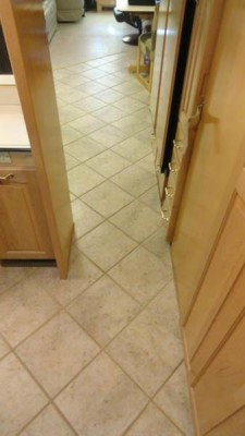 Bathroom-Kitchen Floor