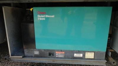 Onan Quiet Diesel Generator